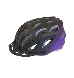 Azur L61 Black/Purple Fade Helmet