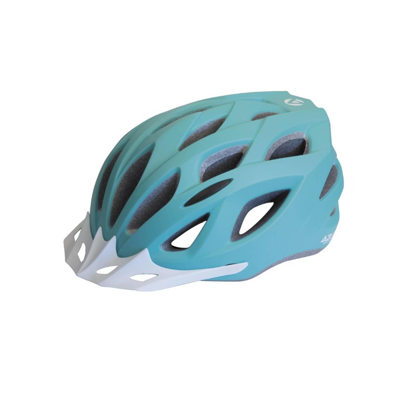 Azur L61 Matt Teal Helmet