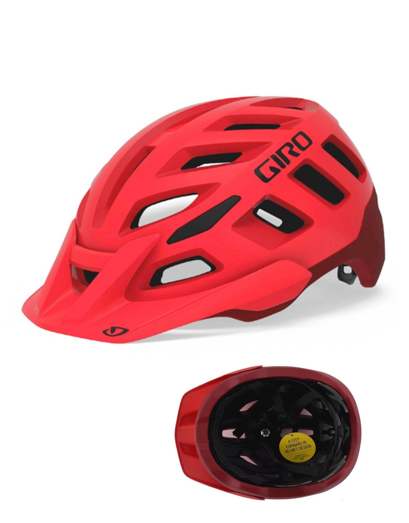 Giro Radix MIPS MTB Helmet Bright Red