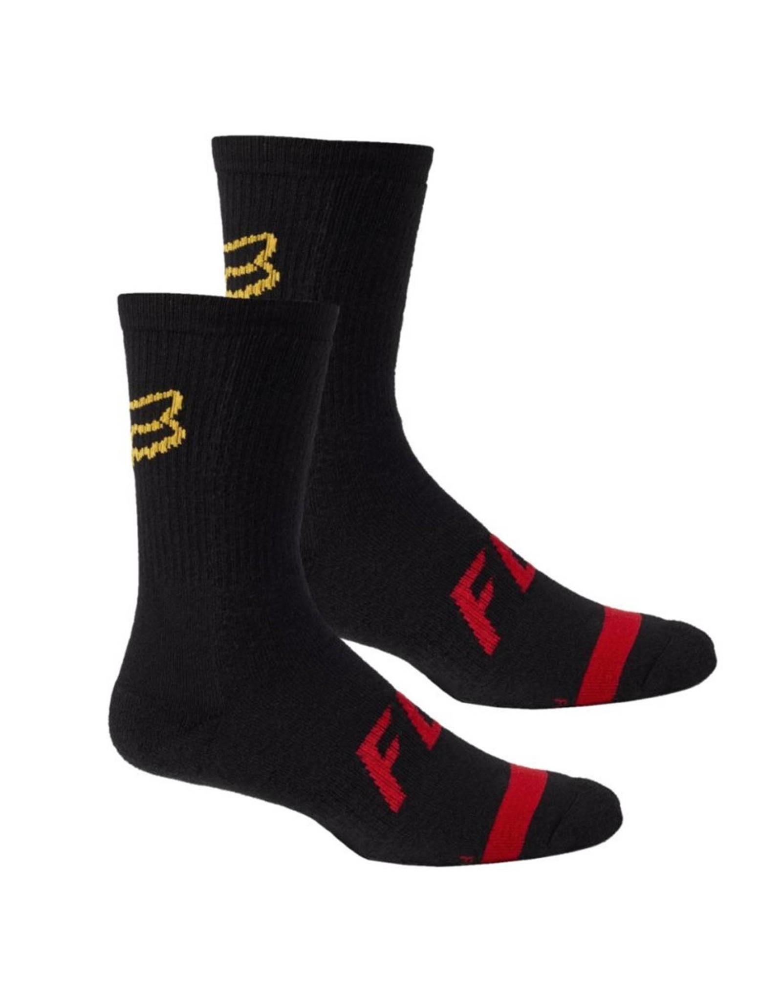 """Fox 8"""" Defender MTB Sock Black"""