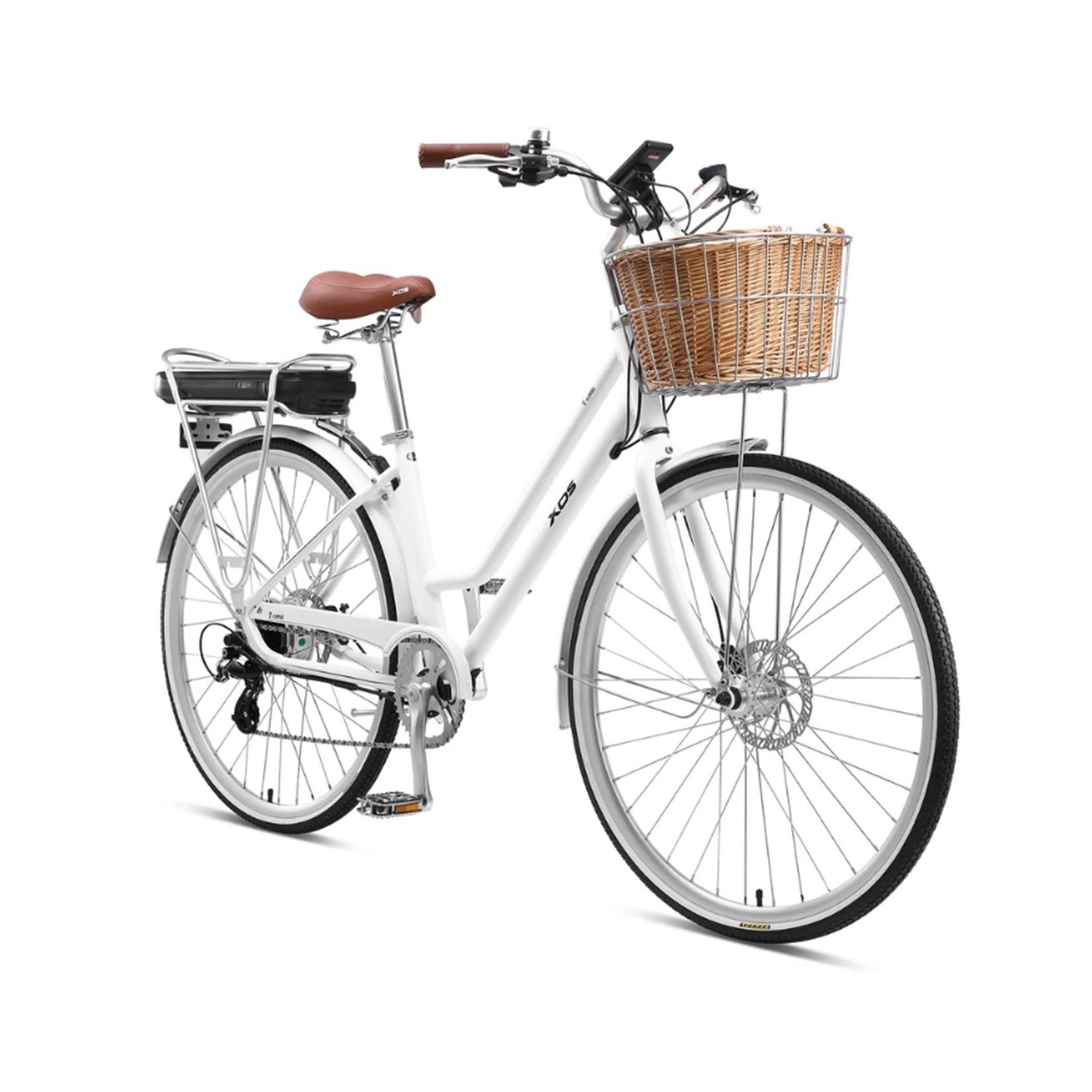 XDS XDS E-Conic Retro Electric Bike White