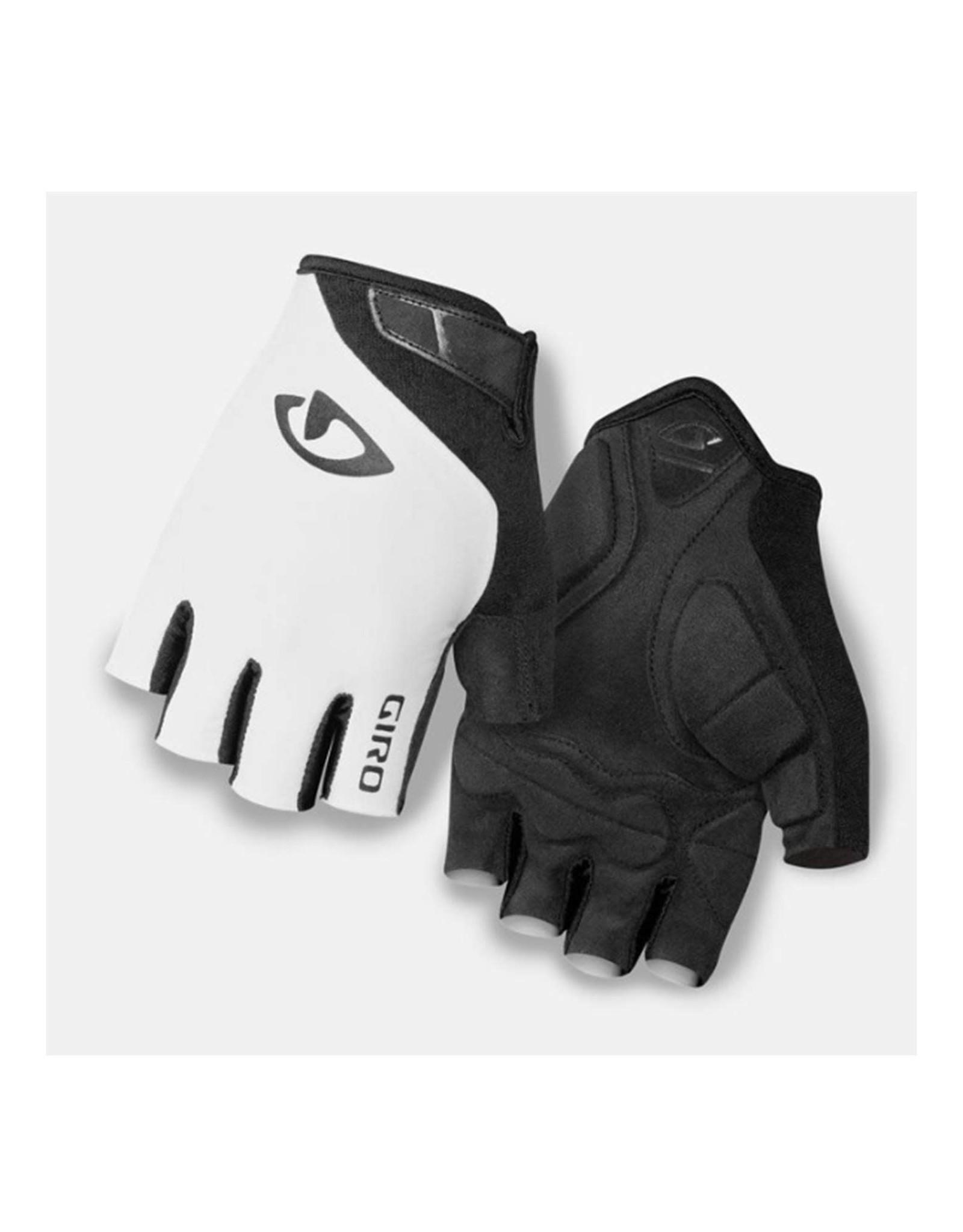 Giro Jag Short Finger Glove White