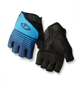 Giro Jag Short Finger Glove Blue Stripe