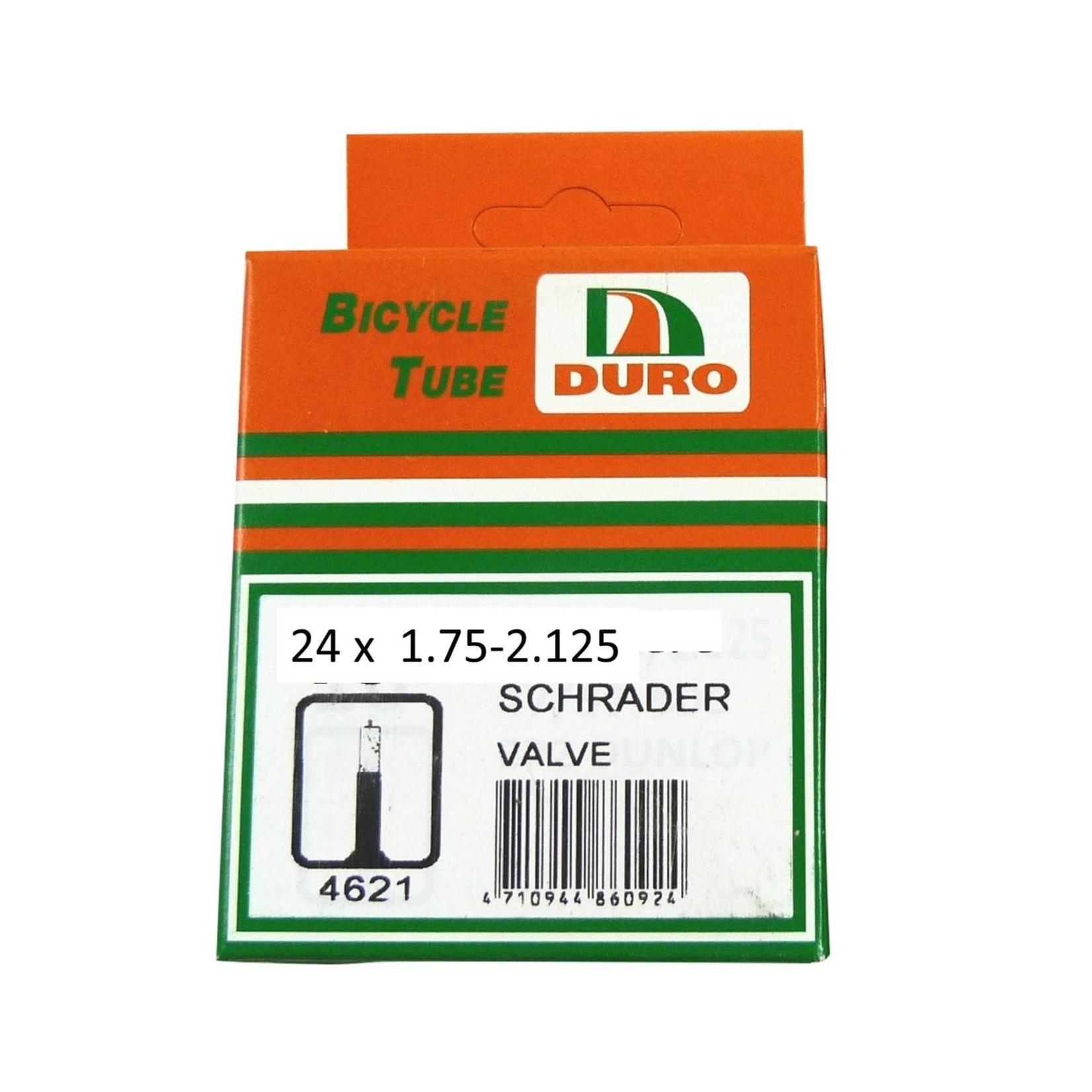 Duro 24 x 1.75-2.125 Schrader Tube