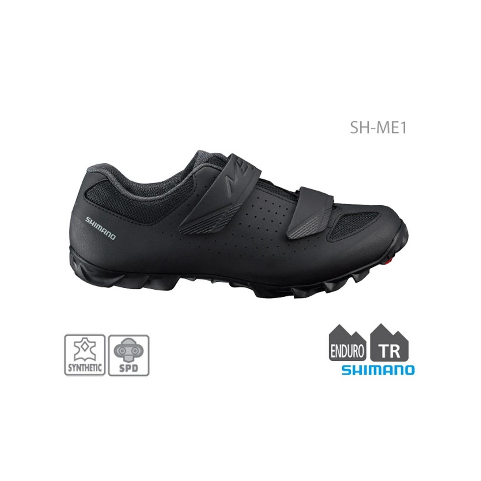 Shimano SH-ME100 Mens MTB Shoe Black