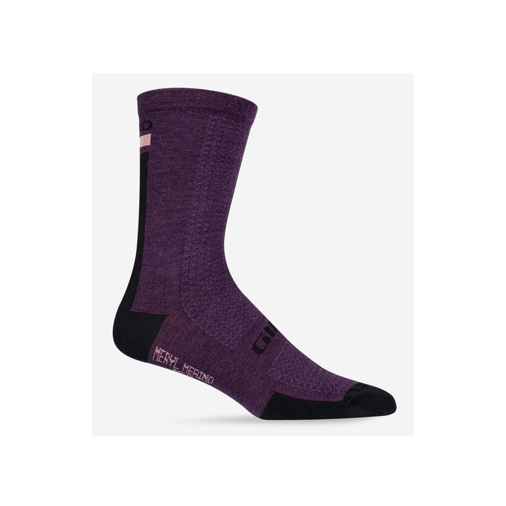 Giro HRC Cycling Sock Dusty Purple