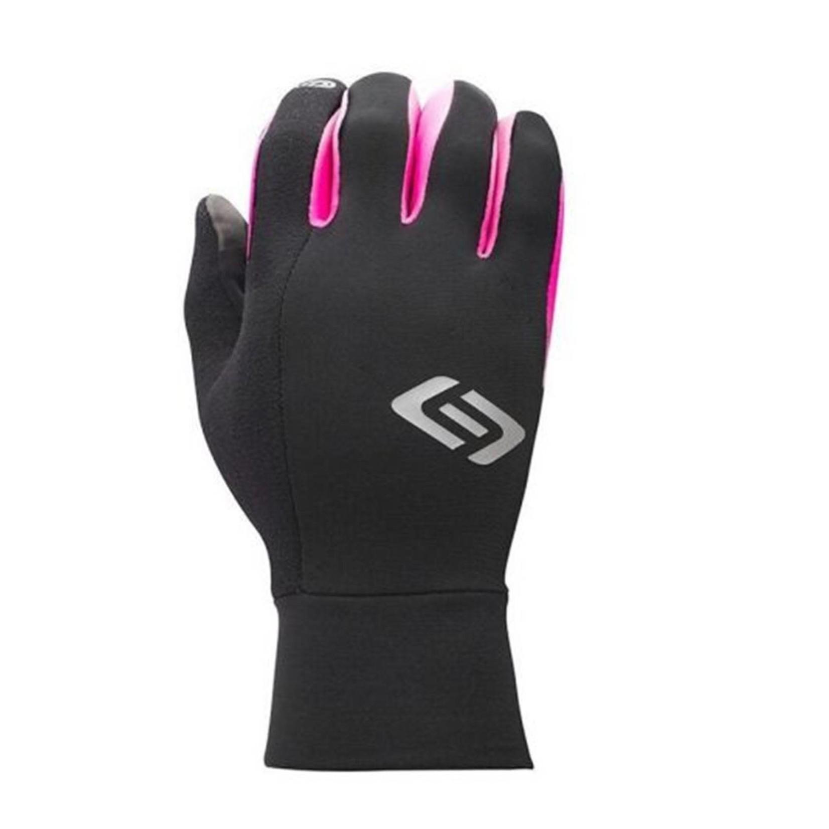 BELLWETHER Bellwether Climate Control Black/Pink Gloves