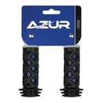 Azur Anak Kids Bike Grips Black Blue