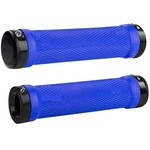 KWT File Lock-On MTB Grip Blue