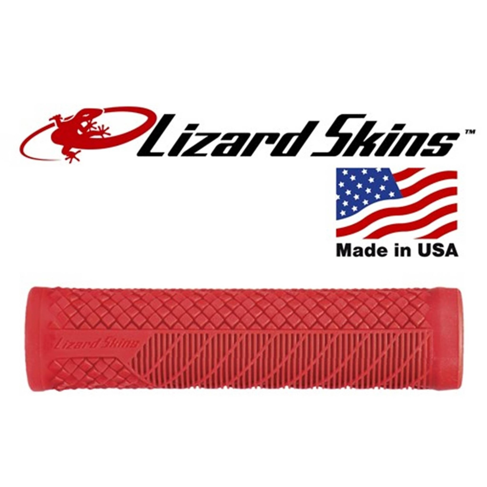 Lizard Skins Charger Evo Single Compound Grips Red