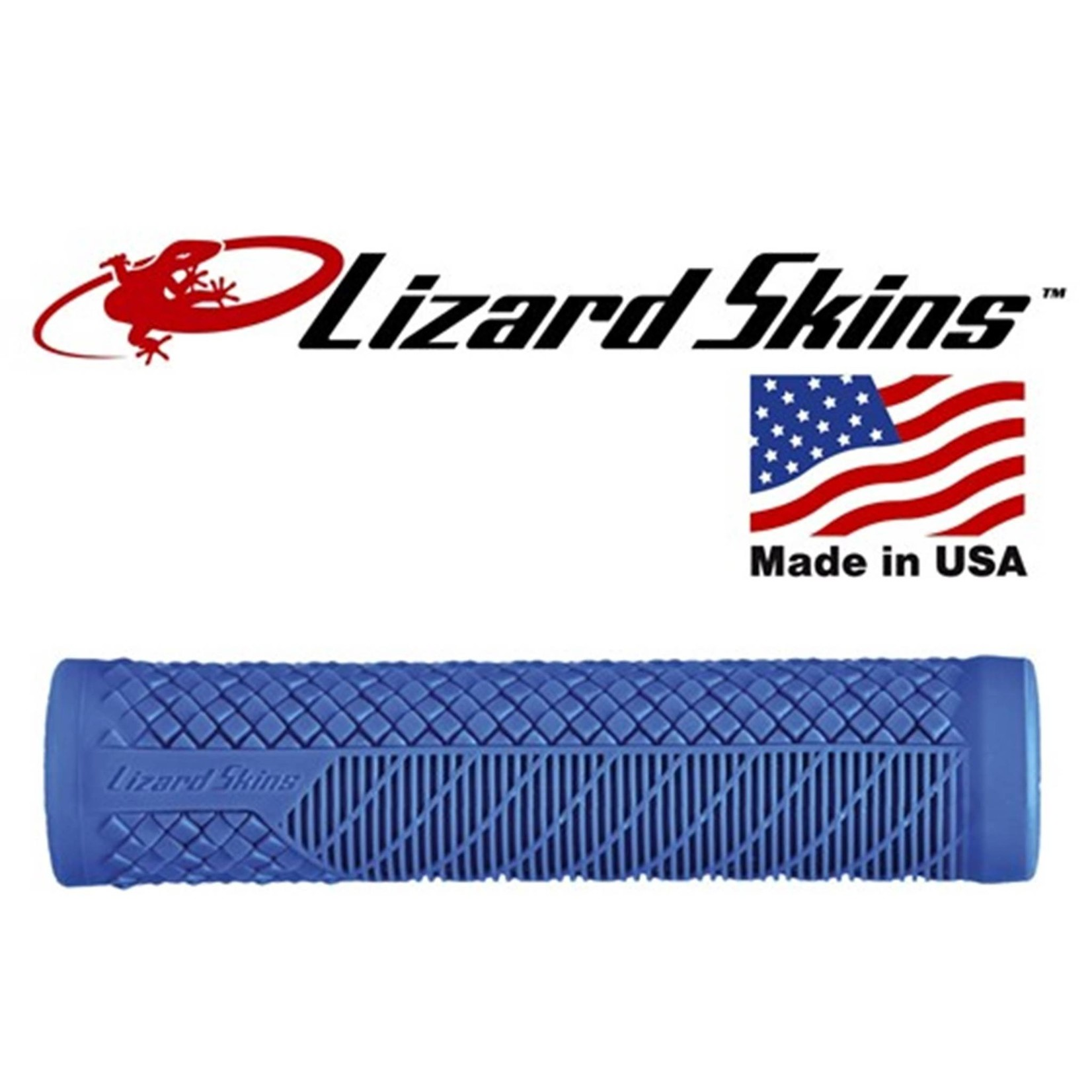 Lizard Skins Charger Evo Single Compound Grips Blue