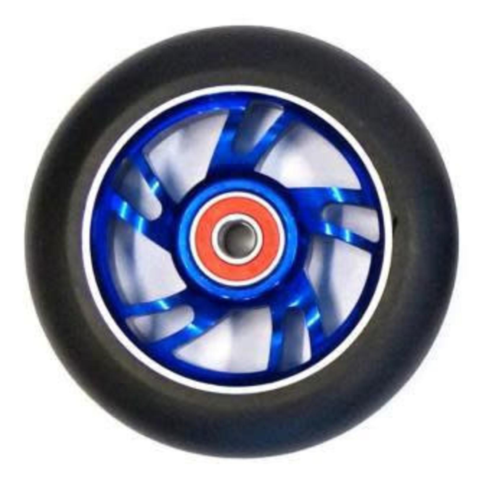 Bulletproof 110mm Scooter Wheel Each Blue