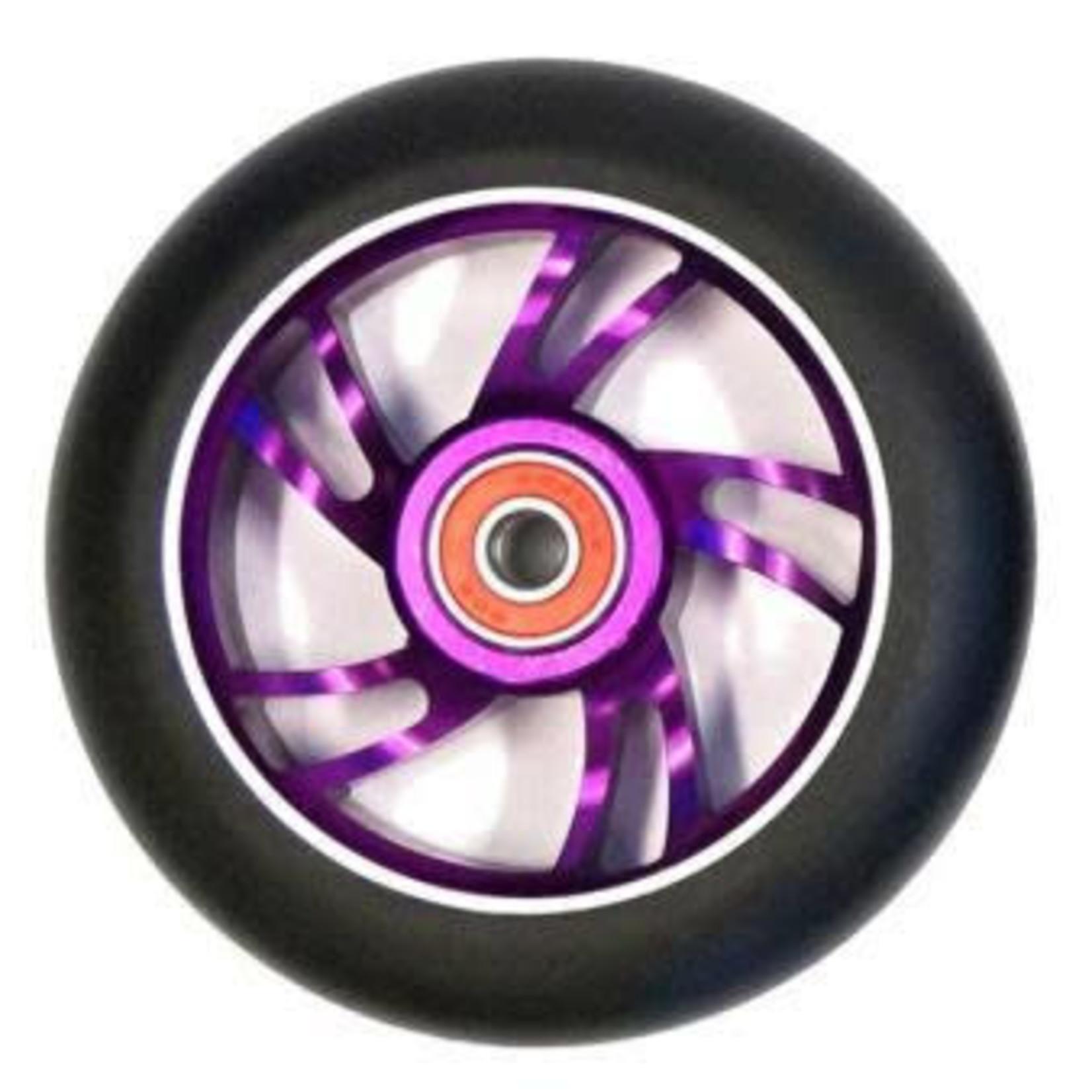Bulletproof 110mm Scooter Wheel Each Purple