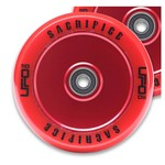 Sacrifice UFO 110mm Scooter Wheel Red/Red