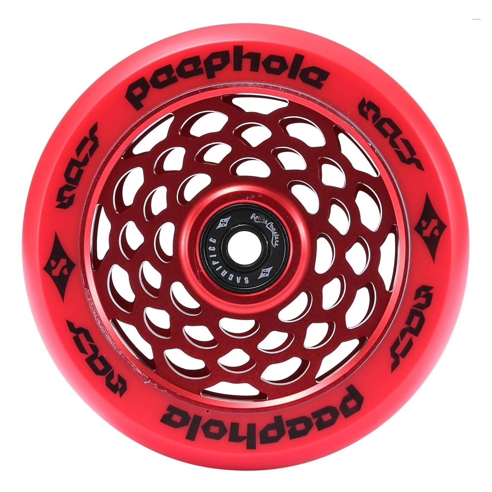 Sacrifice PeepHole 110mm Scooter Wheel Red