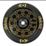 District Zodiac Scooter Wheel 110mm Gold/Black