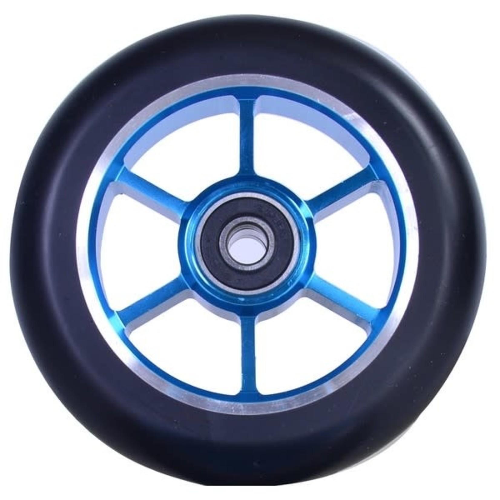 GRIT Grit 100mm 6 Spoke Scooter Wheel Blue/Black
