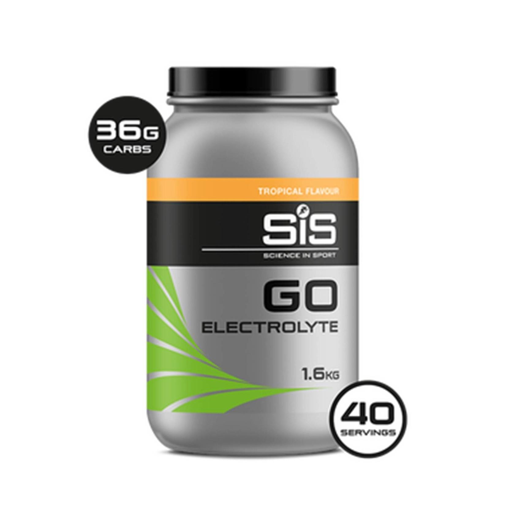 SIS SIS Go Electrolyte Sports Fuel 1.6kg Tropical