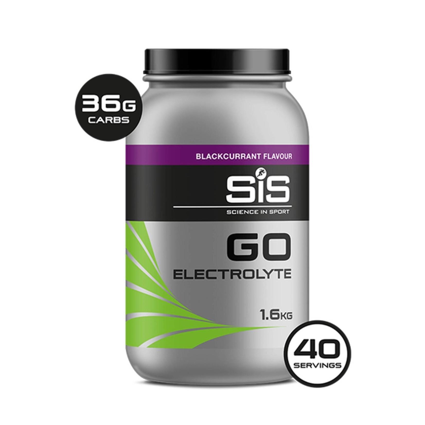 SIS SIS Go Electrolyte Sports Fuel 1.6kg Blackcurrant