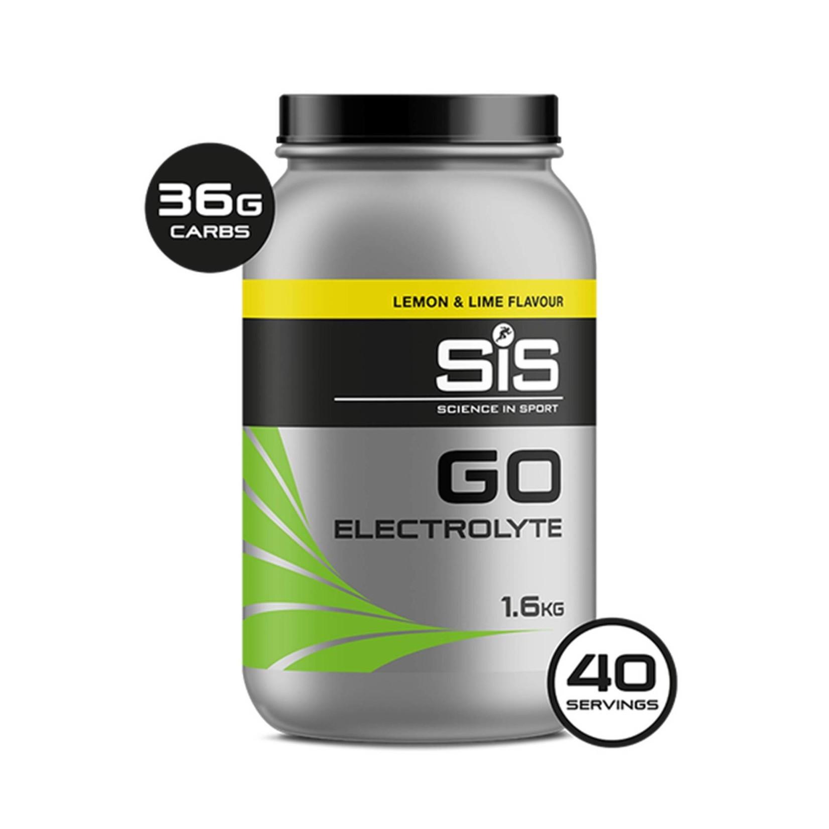 SIS SIS Go Electrolyte Sports Fuel 1.6kg Lemon & Lime