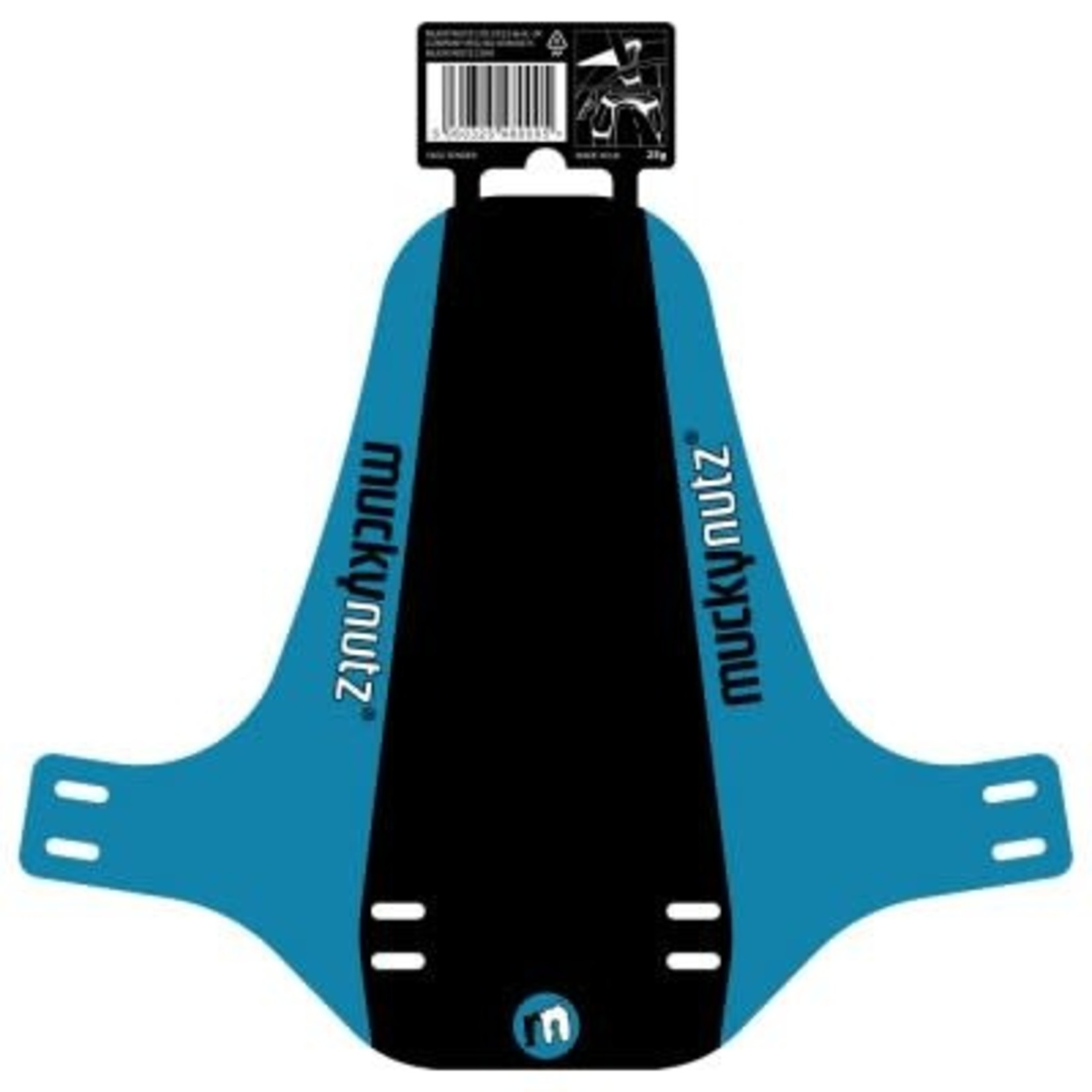 Mucky Nutz Face Fender Black/Blue