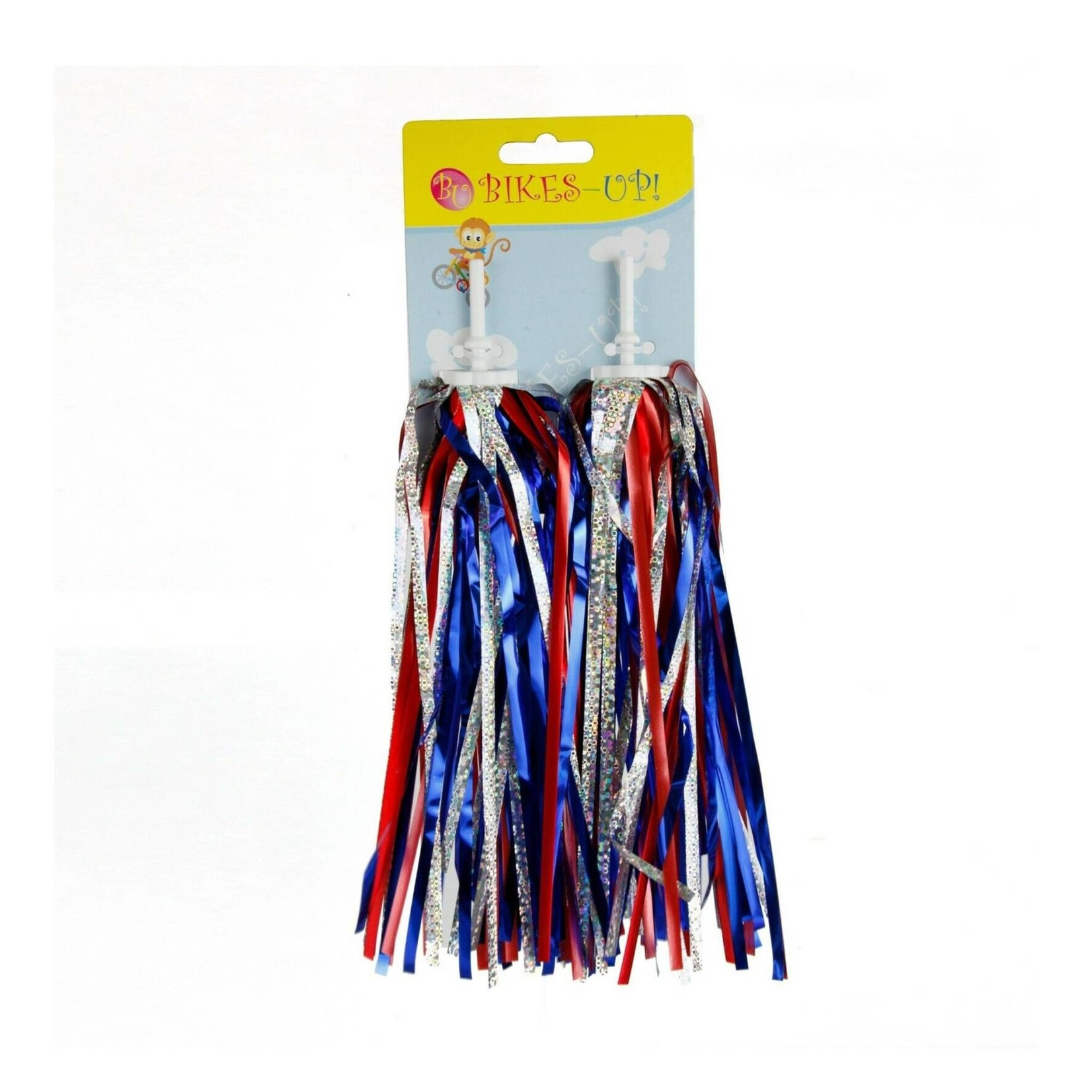 Bikes Up Streamers Red / Silver / Blue