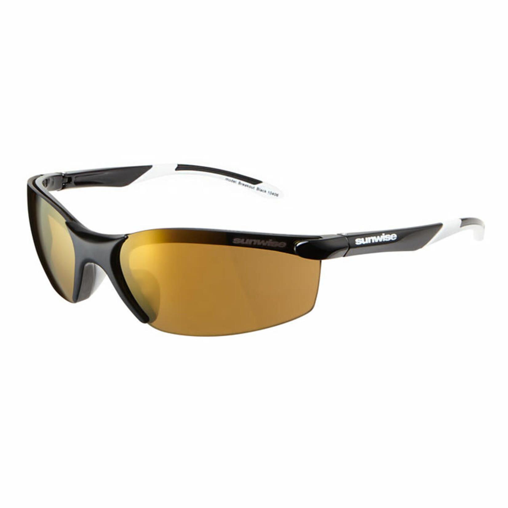 Sunwise Breakout Sunglasses Black/White