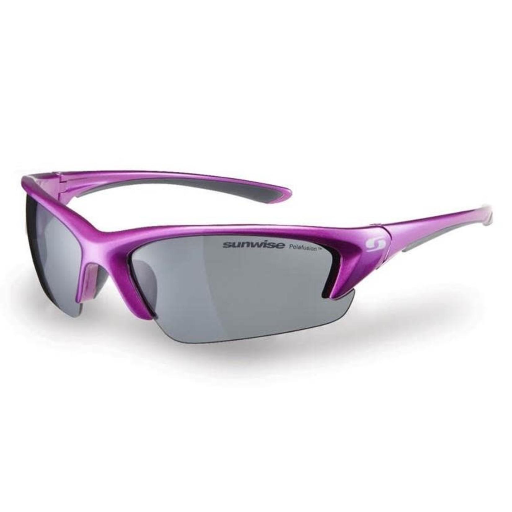 Sunwise Canary Wharf Sunglasses Purple