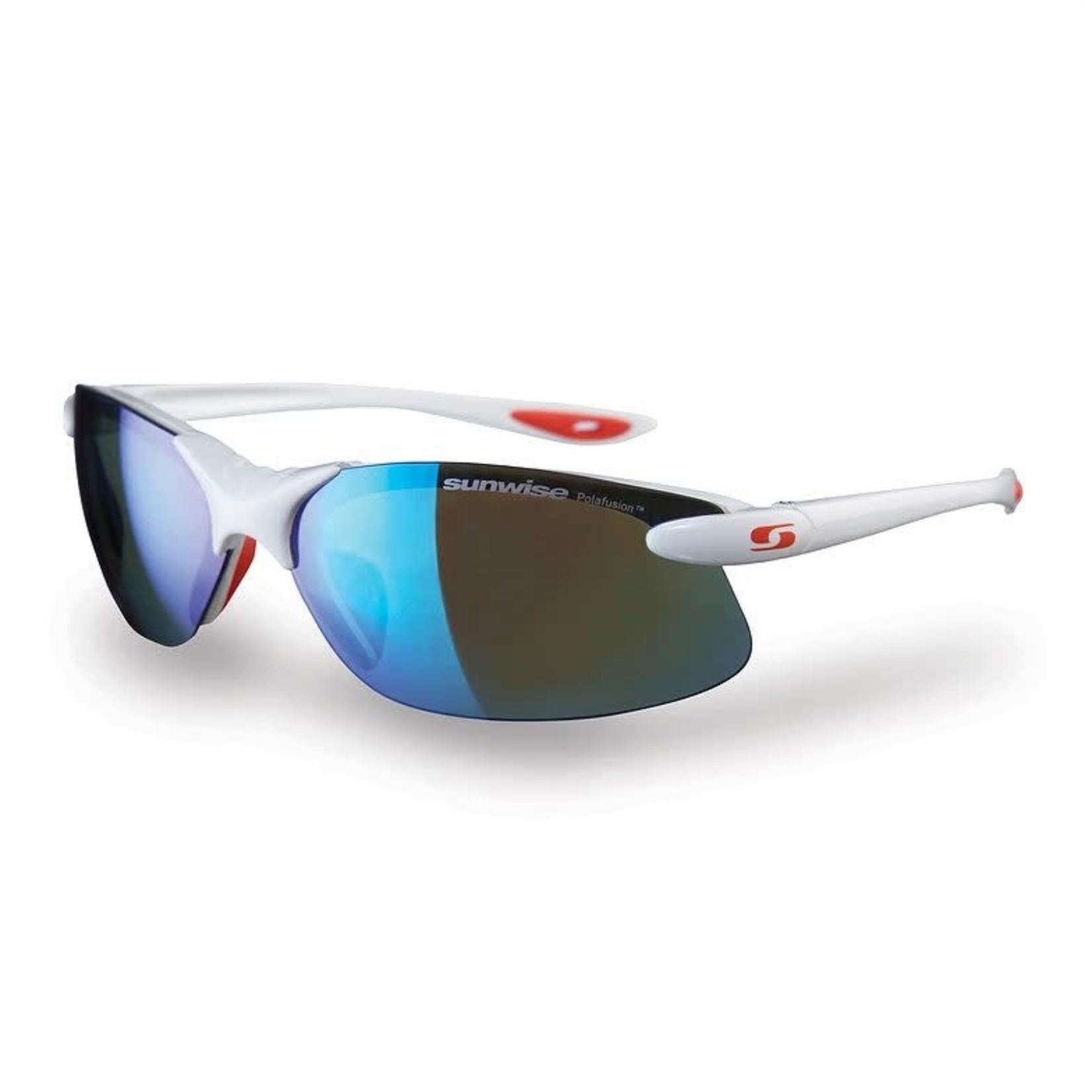 Sunwise Greenwich Sunglasses White/Red