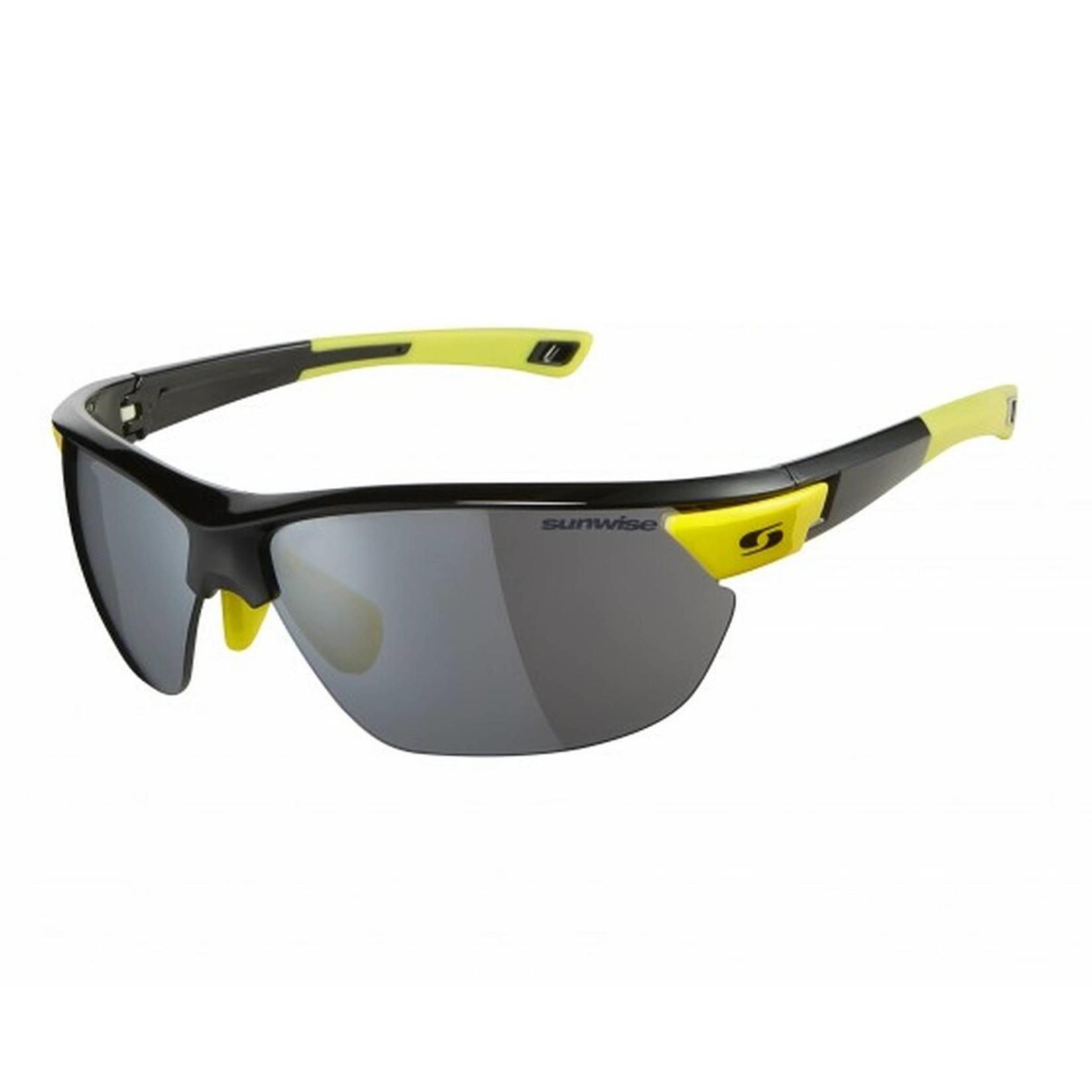 Sunwise Kennington Sunglasses Black/Yellow