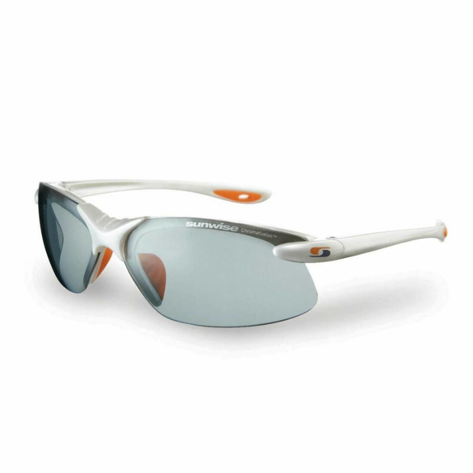 Sunwise Waterloo Photochromic Sunglasses White