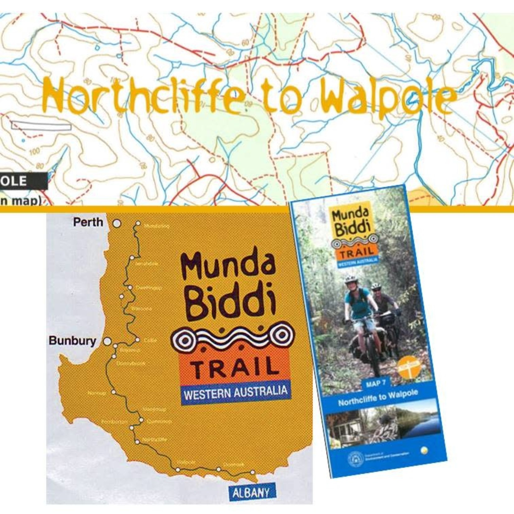 Munda Biddi MTB Trail Map 7