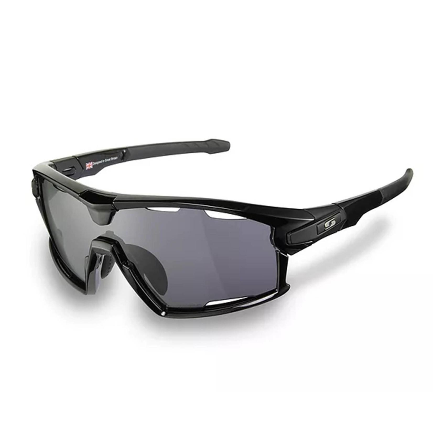 Sunwise Hybrid Air Chrome Sunglasses Black