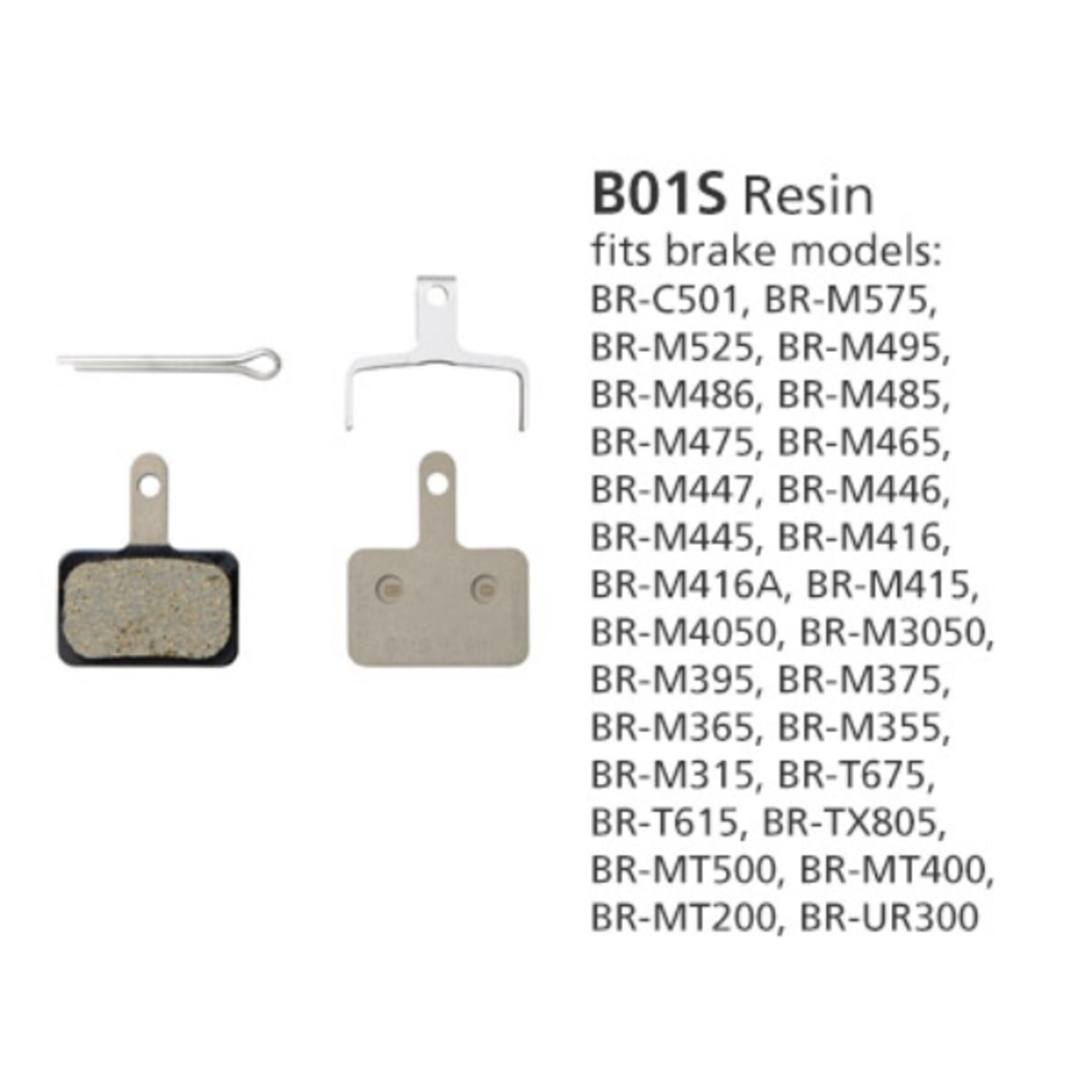 Shimano BR-MT400 B01S Resin Disc Pads