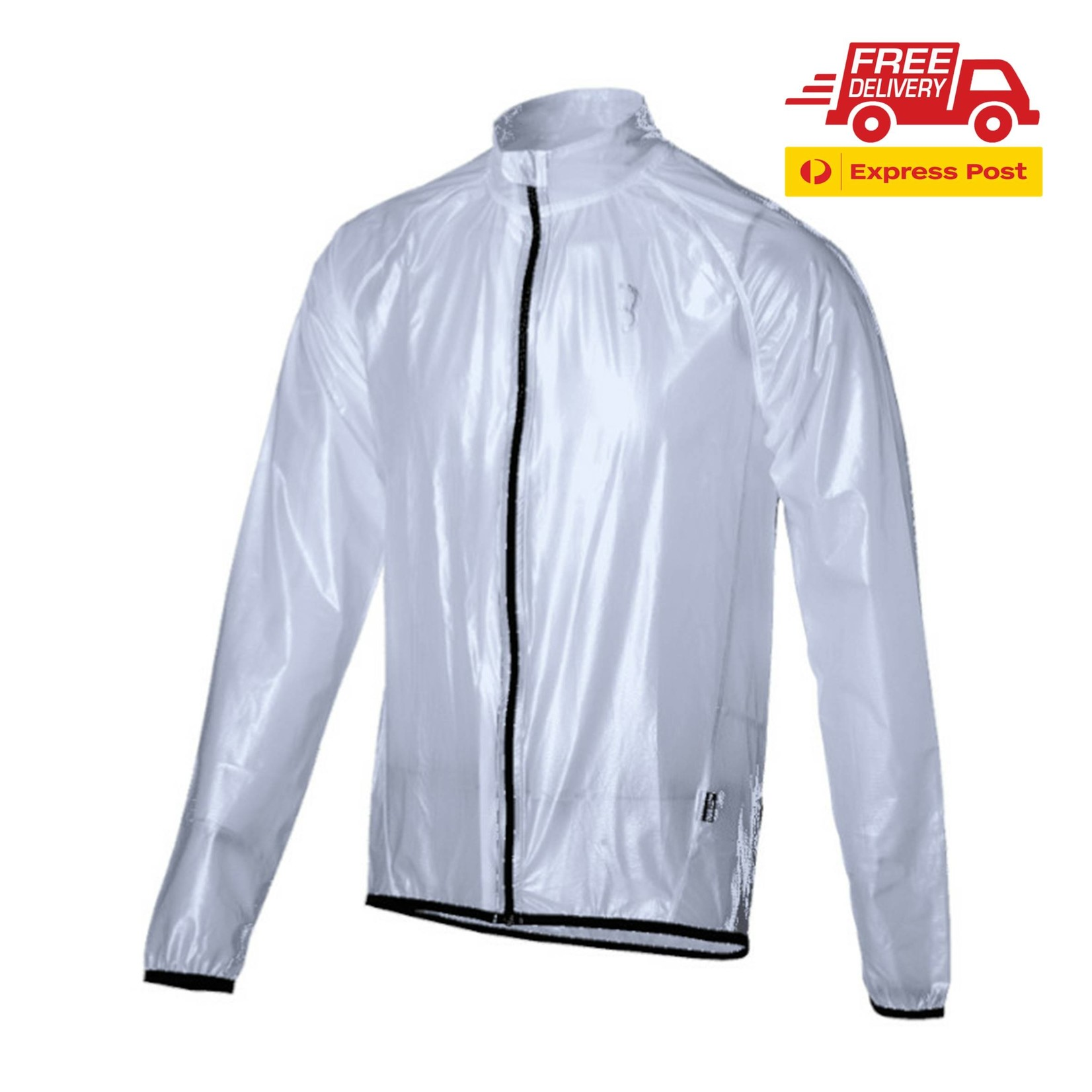 BBB Trans Shield Rain Jacket Clear