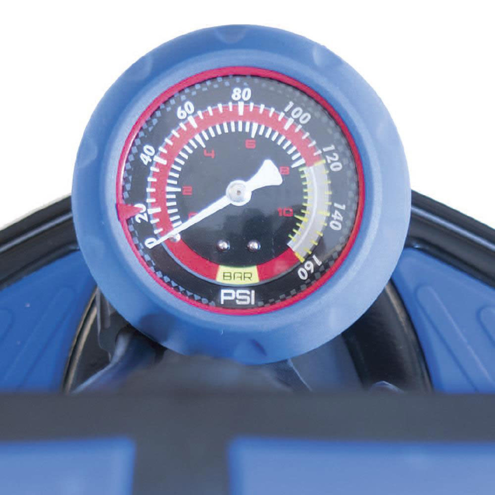 Azur Floor Pump SP45 Alloy Black/Blue
