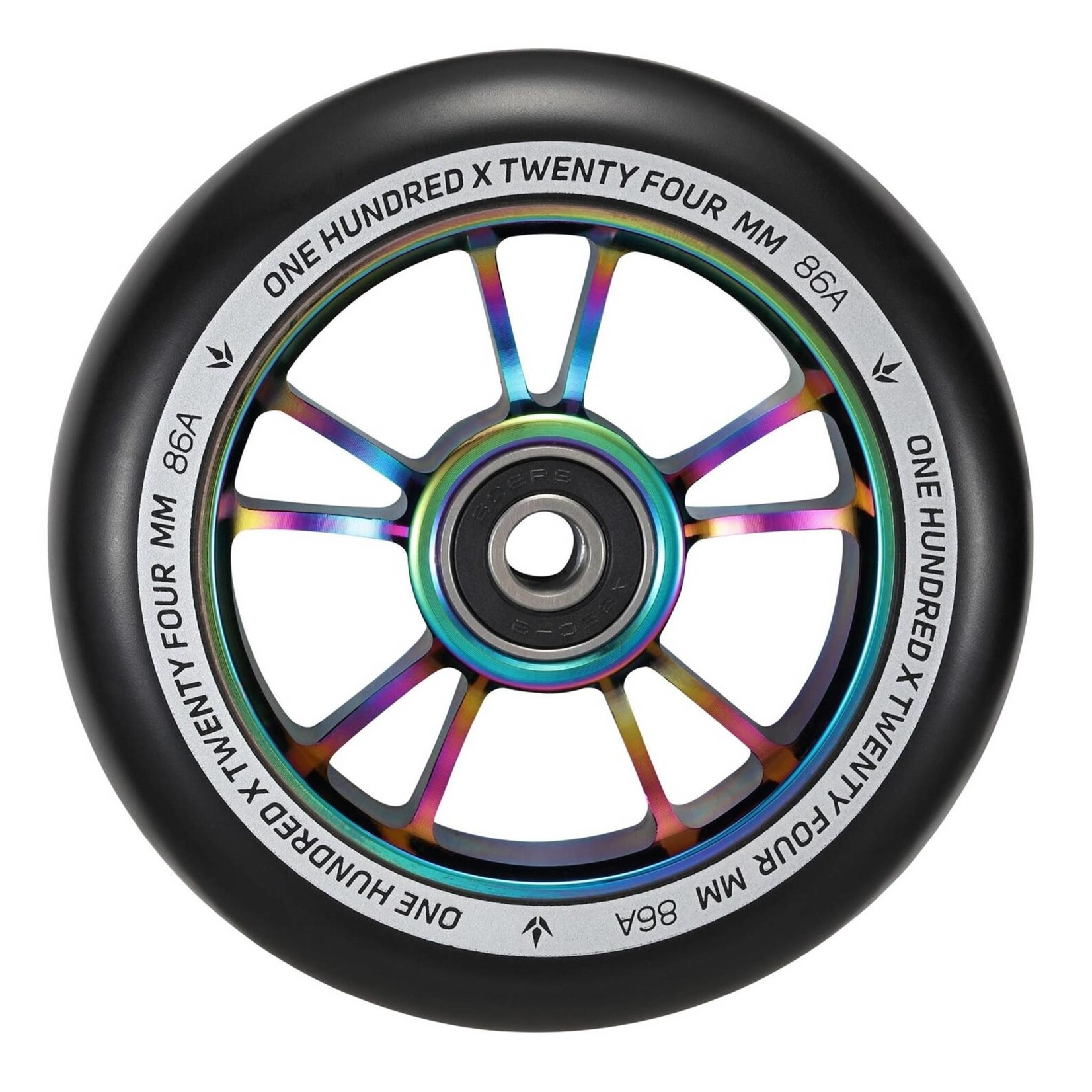 ENVY Envy 100mm Scooter Wheel Oilslick/Black