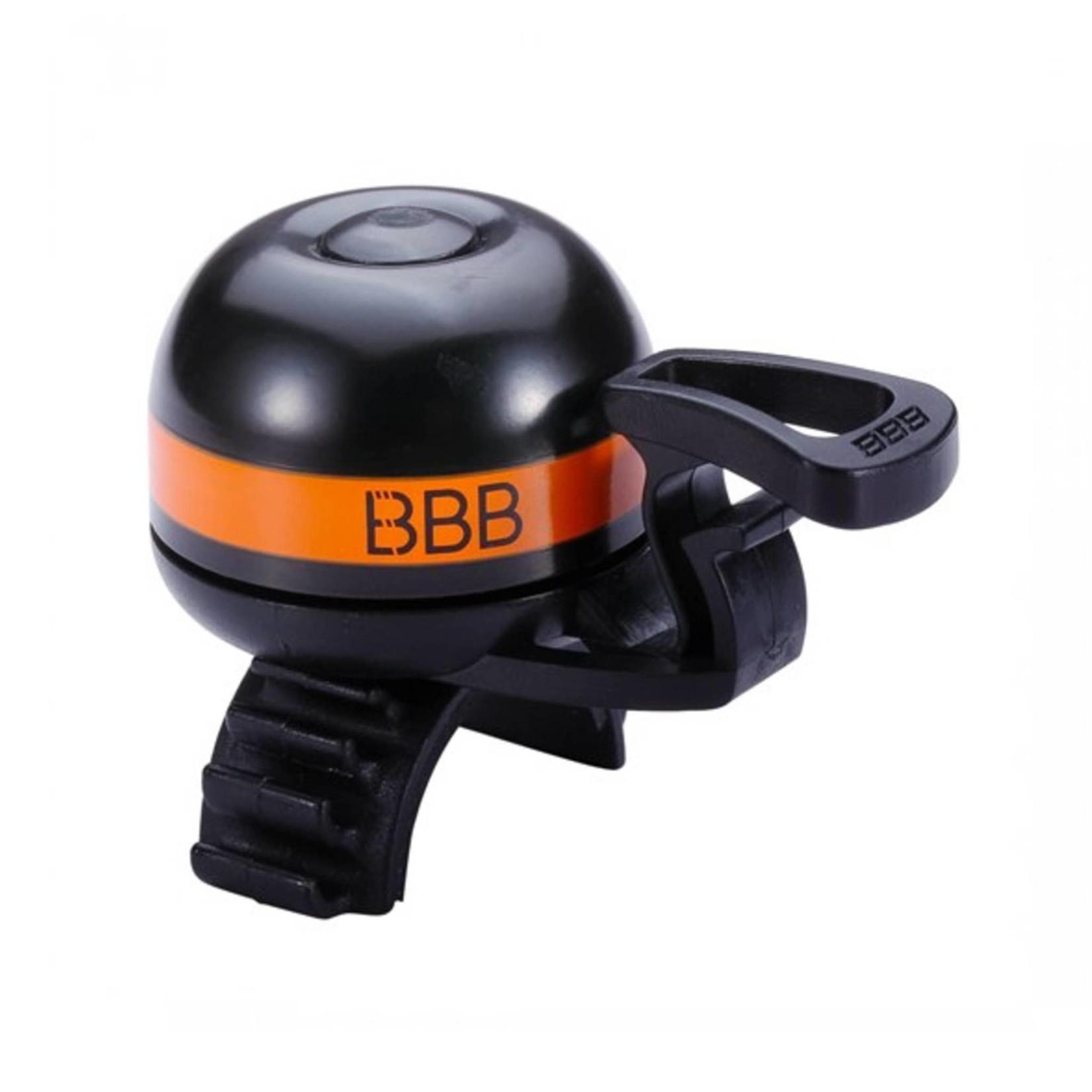 BBB EasyFit Deluxe Bell Black/Orange