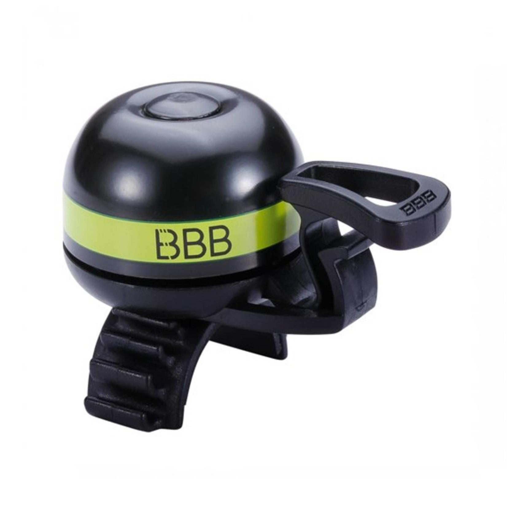 BBB EasyFit Deluxe Bell Black/Yellow