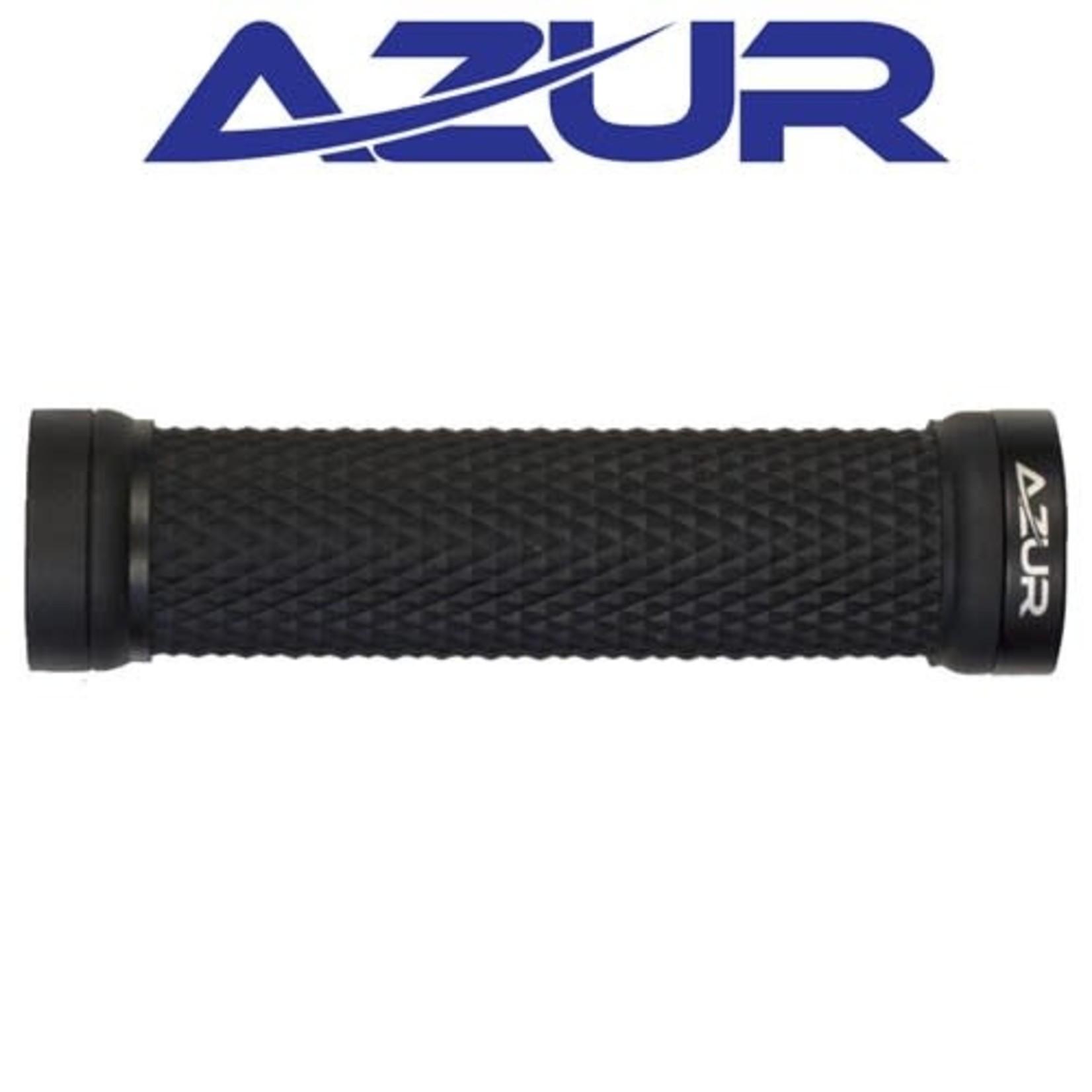 Azur Charge Lock-on Grip Black/Black