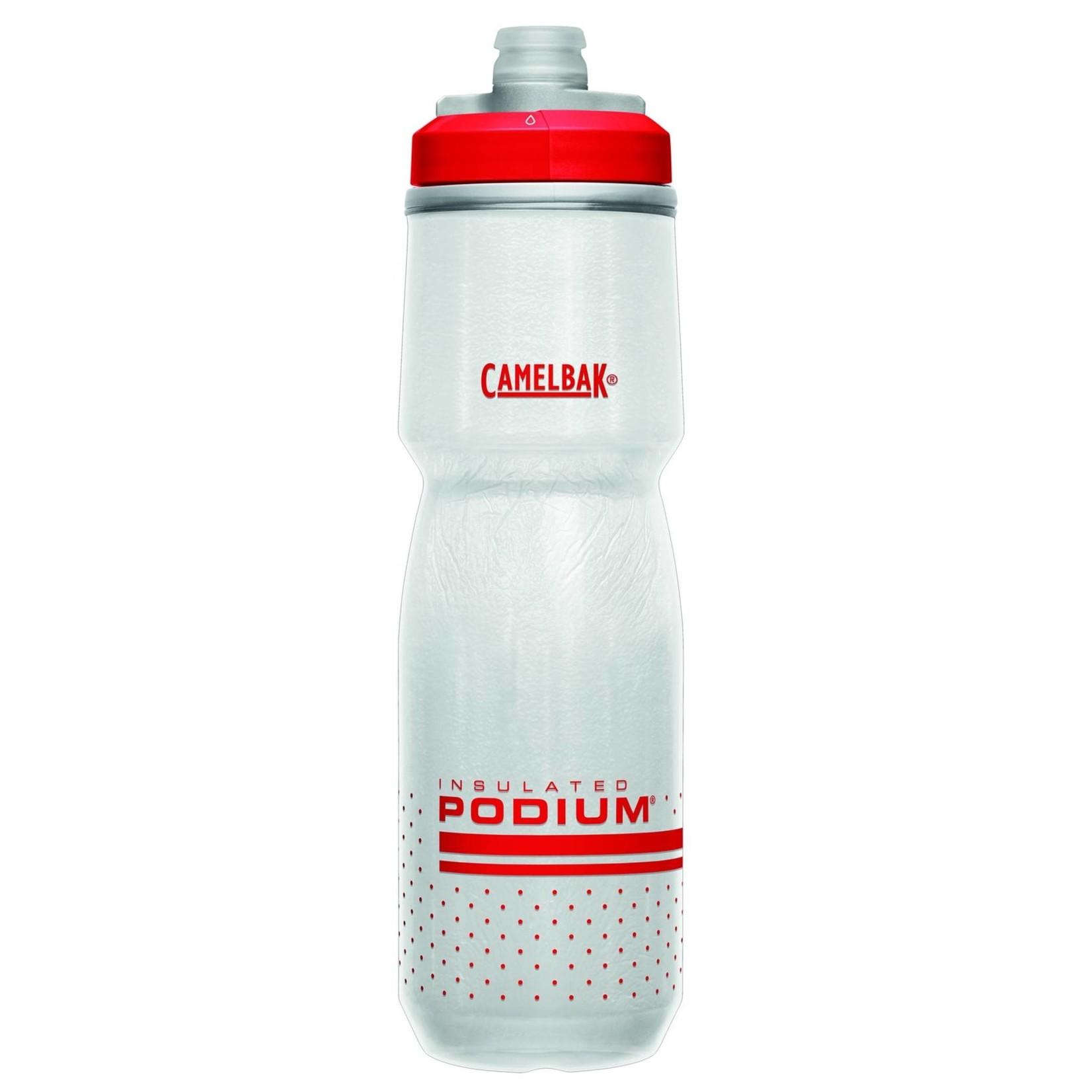 Camelbak Podium Big Chill Water Bottle  Red 710ml