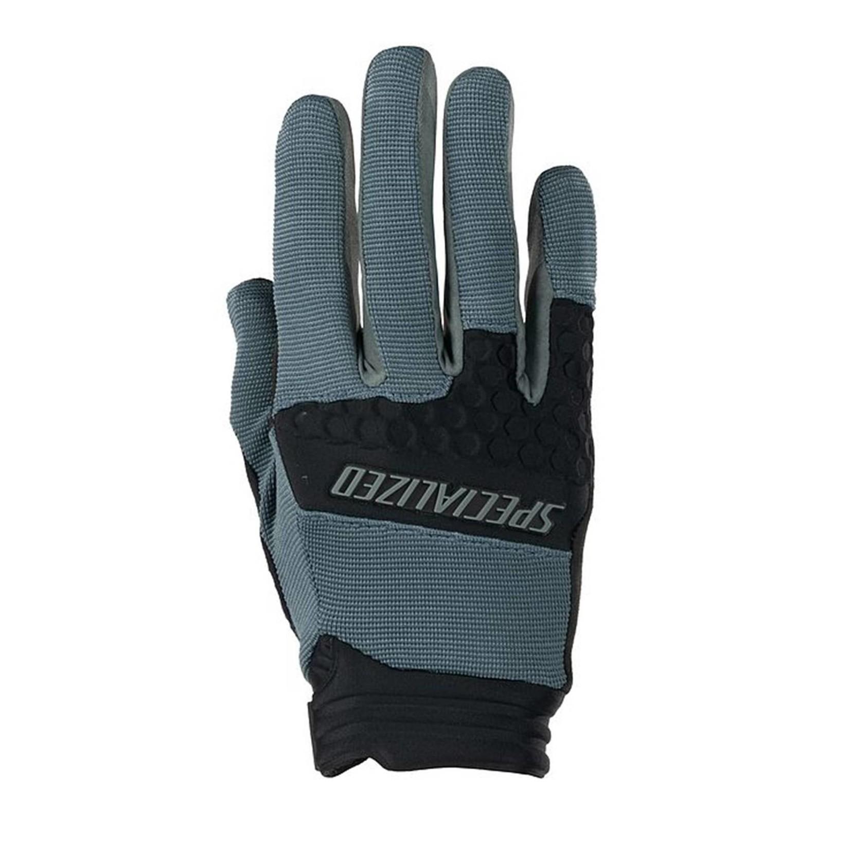 SPECIALIZED Specialized Trail Shield Long Finger MTB Glove Cast Battleship