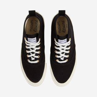 Maison Kitsune Canvas High Top Sneaker