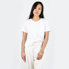 Calder Crop Jaq Tee in White