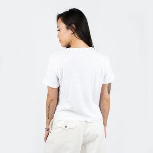 Calder Crop Jaq Tee in White