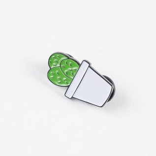 Hella Good Cactus Enamel Pin