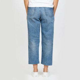 Tanaka Dad Jean Crop Mid Blue