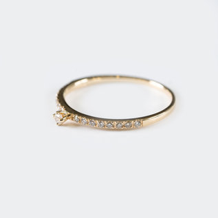 SS Fine Jewelry Everyday Diamond Ring in 10K Yellow Gold