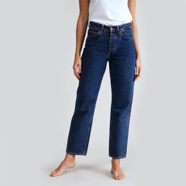 Won Hundred Pearl Straight Denim in Stone Blue