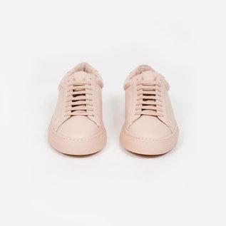 Zespa ZSP4 Leather Sneaker in Nude
